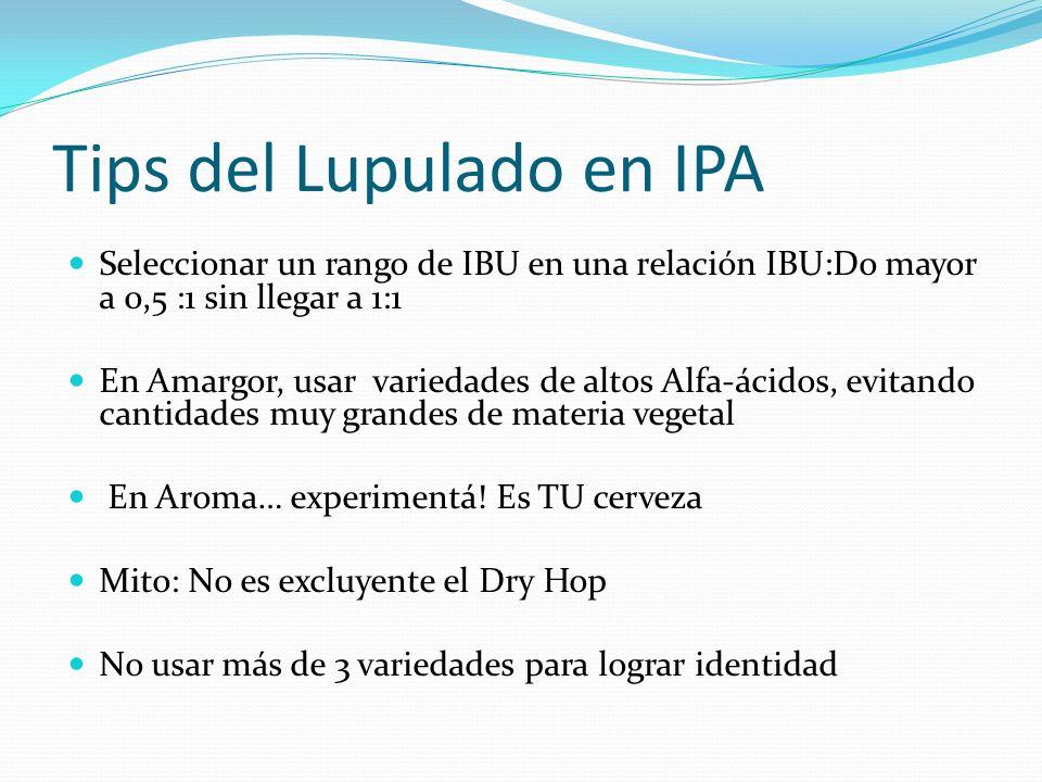 Tips del Lupulado en IPA