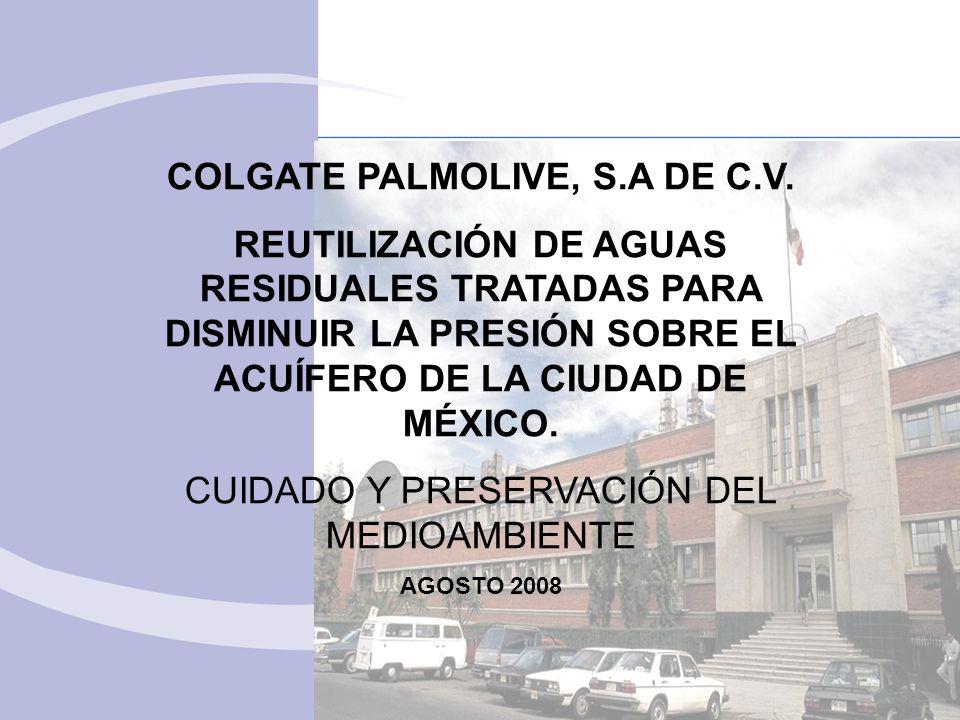 COLGATE PALMOLIVE, S.A DE C.V.