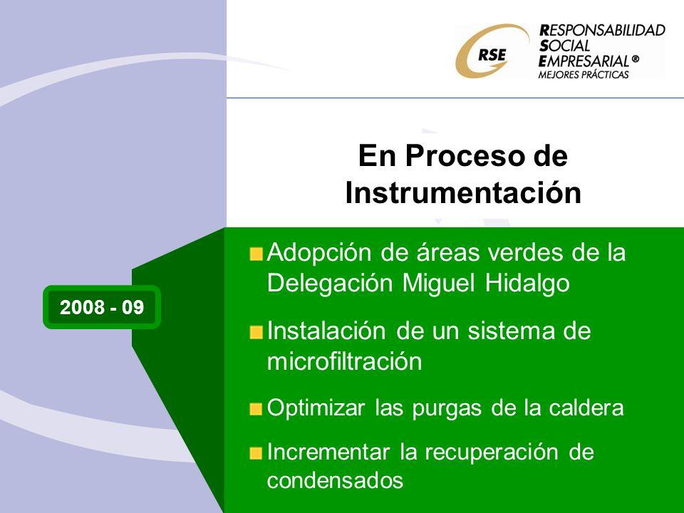 En Proceso de Instrumentación