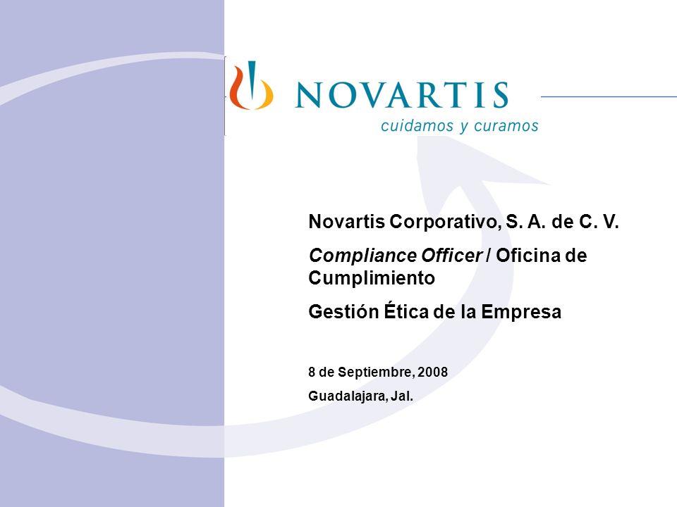 Novartis Corporativo, S. A. de C. V.