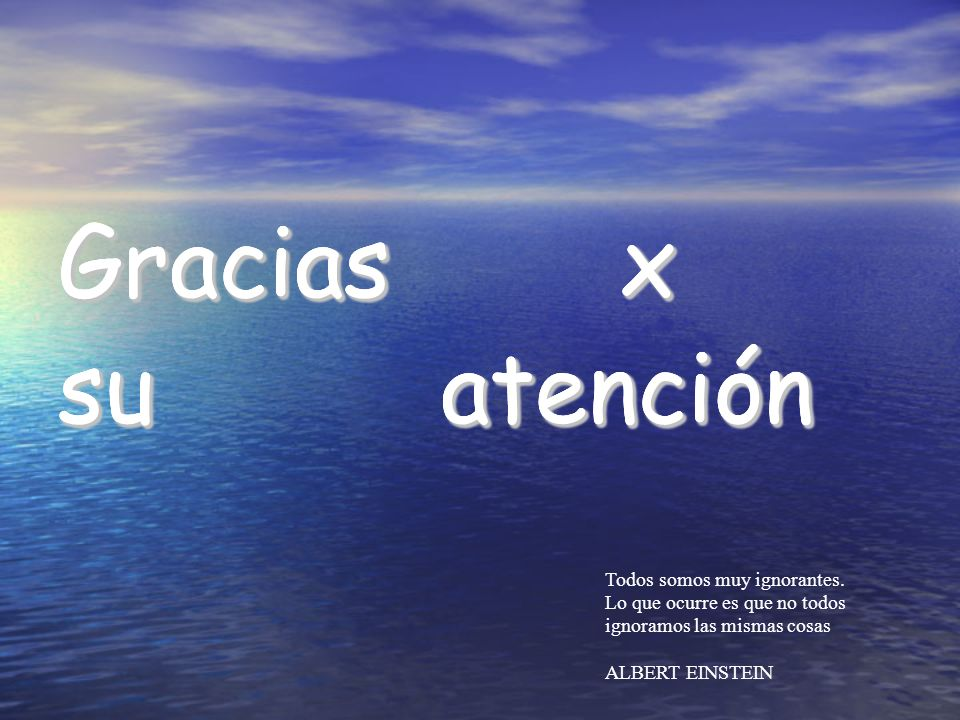 Gracias x su atención Gracias x su atención Gracias x su atención