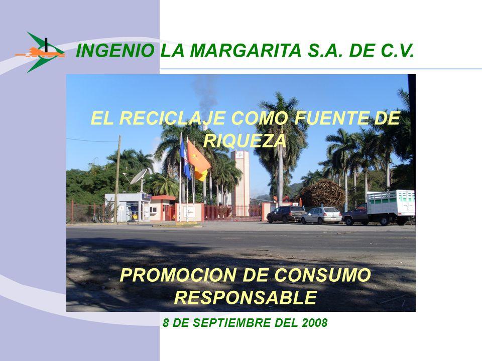 INGENIO LA MARGARITA S.A. DE C.V.