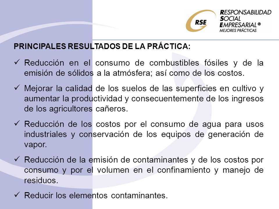 Reducir los elementos contaminantes.