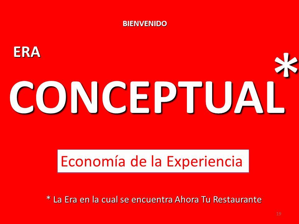 * CONCEPTUAL ERA Economía de la Experiencia