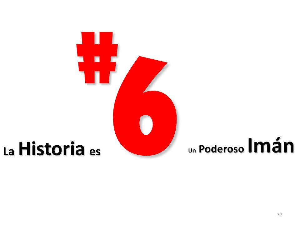 # 6 Un Poderoso Imán La Historia es
