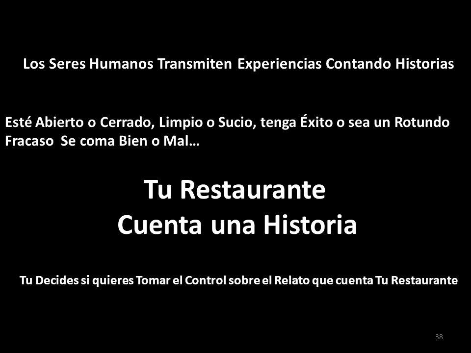 Tu Restaurante Cuenta una Historia