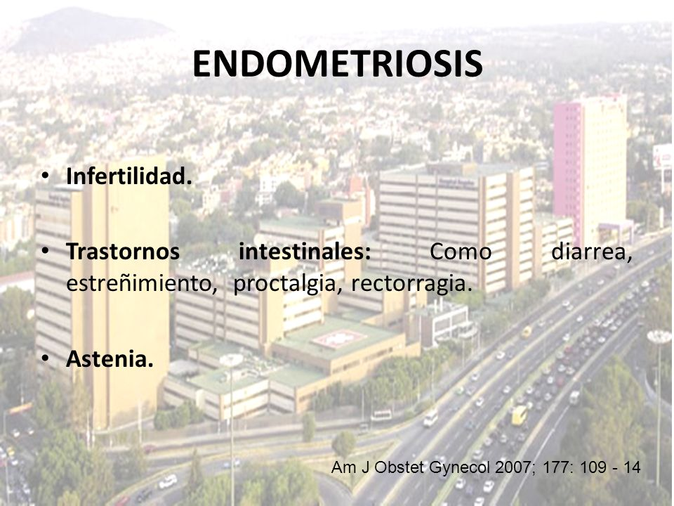 ENDOMETRIOSIS Infertilidad.