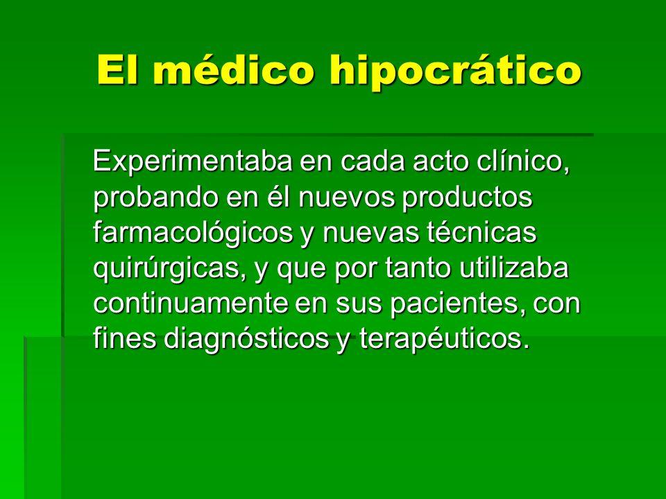 El médico hipocrático