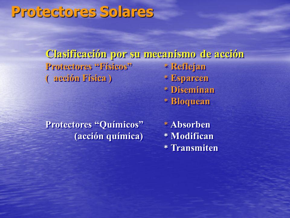 Clasificación por su mecanismo de acción