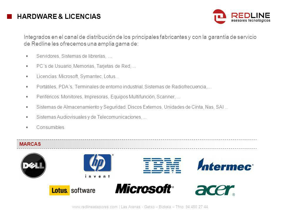 HARDWARE & LICENCIAS
