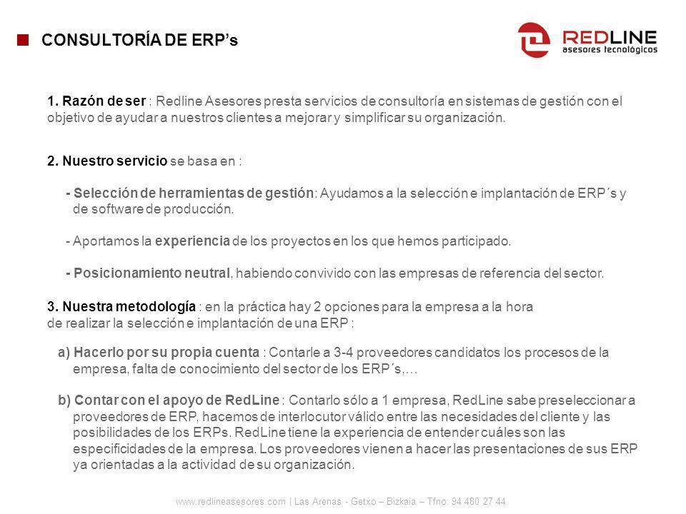 CONSULTORÍA DE ERP's