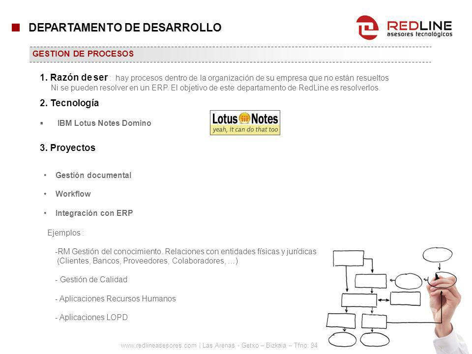 DEPARTAMENTO DE DESARROLLO