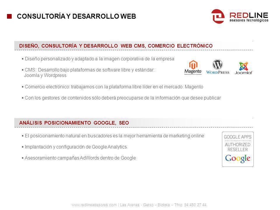 CONSULTORÍA Y DESARROLLO WEB