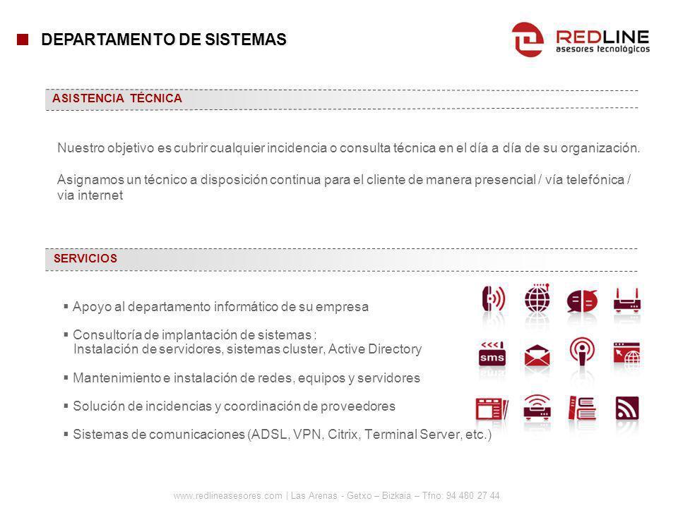 DEPARTAMENTO DE SISTEMAS