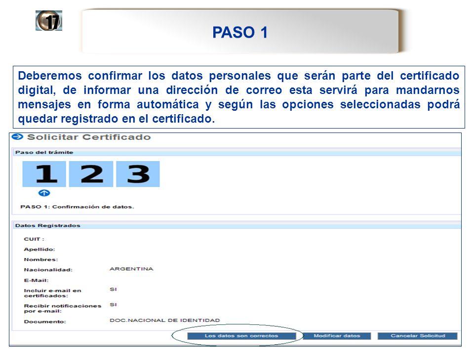 PASO 1 17.