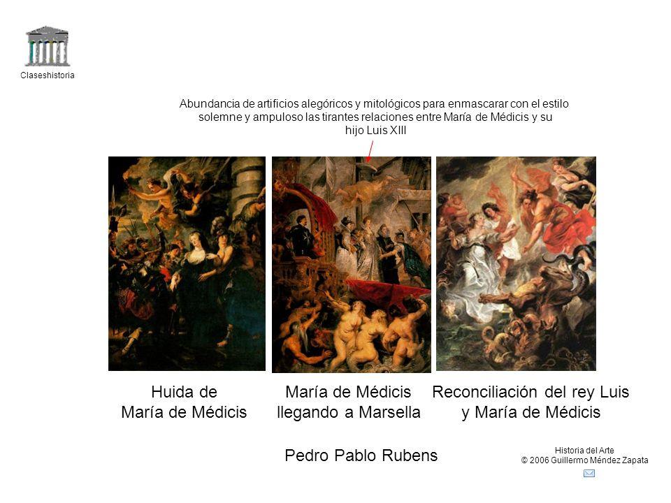 Reconciliación del rey Luis y María de Médicis