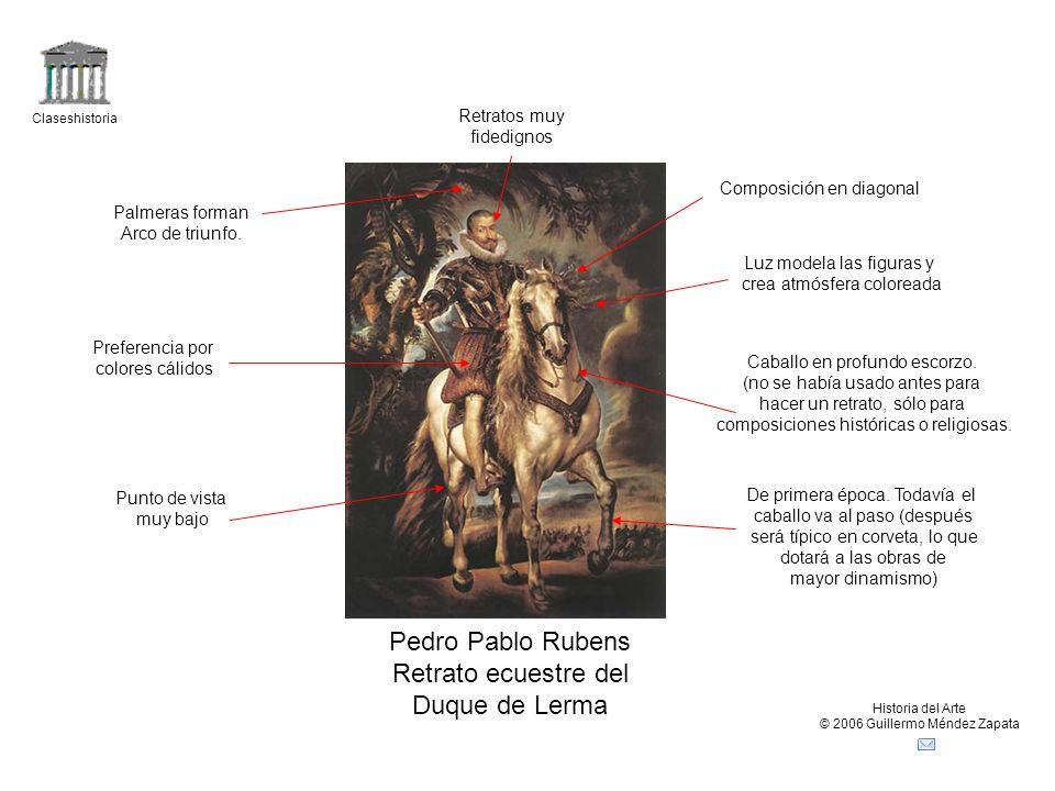 Pedro Pablo Rubens Retrato ecuestre del Duque de Lerma Retratos muy