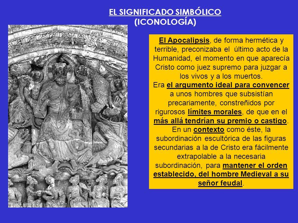 EL SIGNIFICADO SIMBÓLICO (ICONOLOGÍA)