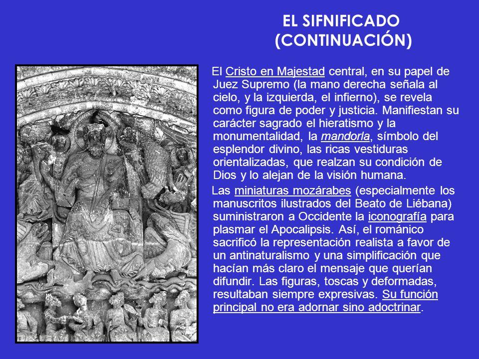 EL SIFNIFICADO (CONTINUACIÓN)