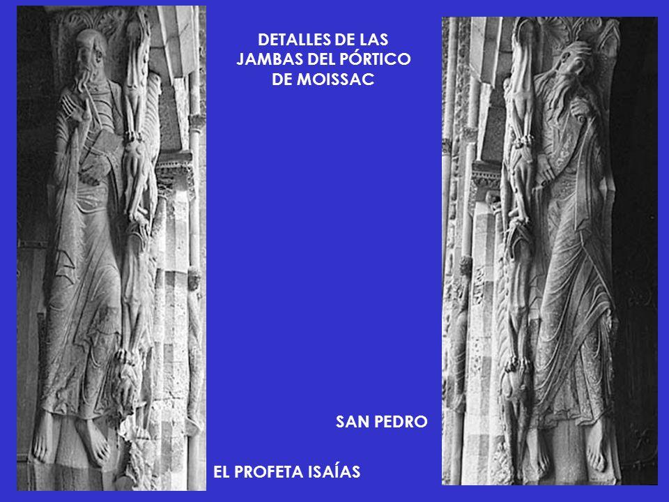 DETALLES DE LAS JAMBAS DEL PÓRTICO DE MOISSAC