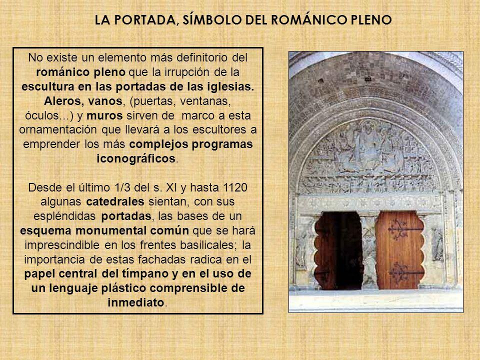 LA PORTADA, SÍMBOLO DEL ROMÁNICO PLENO