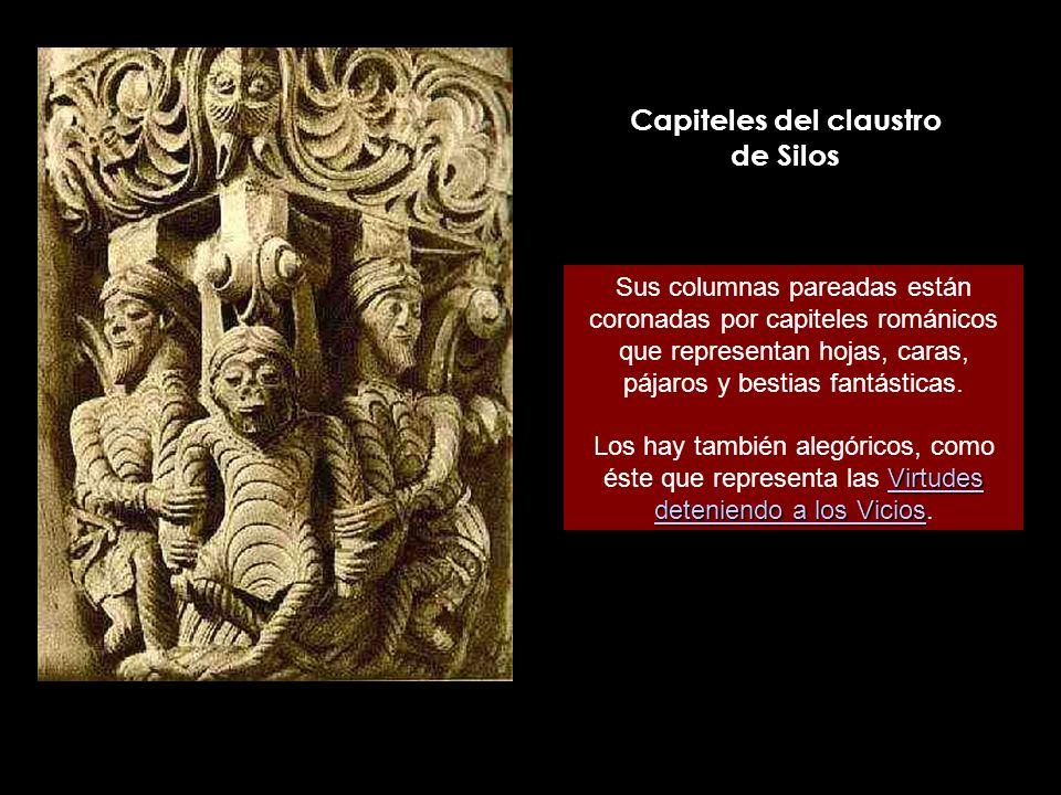 Capiteles del claustro de Silos