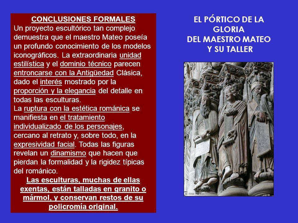 EL PÓRTICO DE LA GLORIA DEL MAESTRO MATEO Y SU TALLER