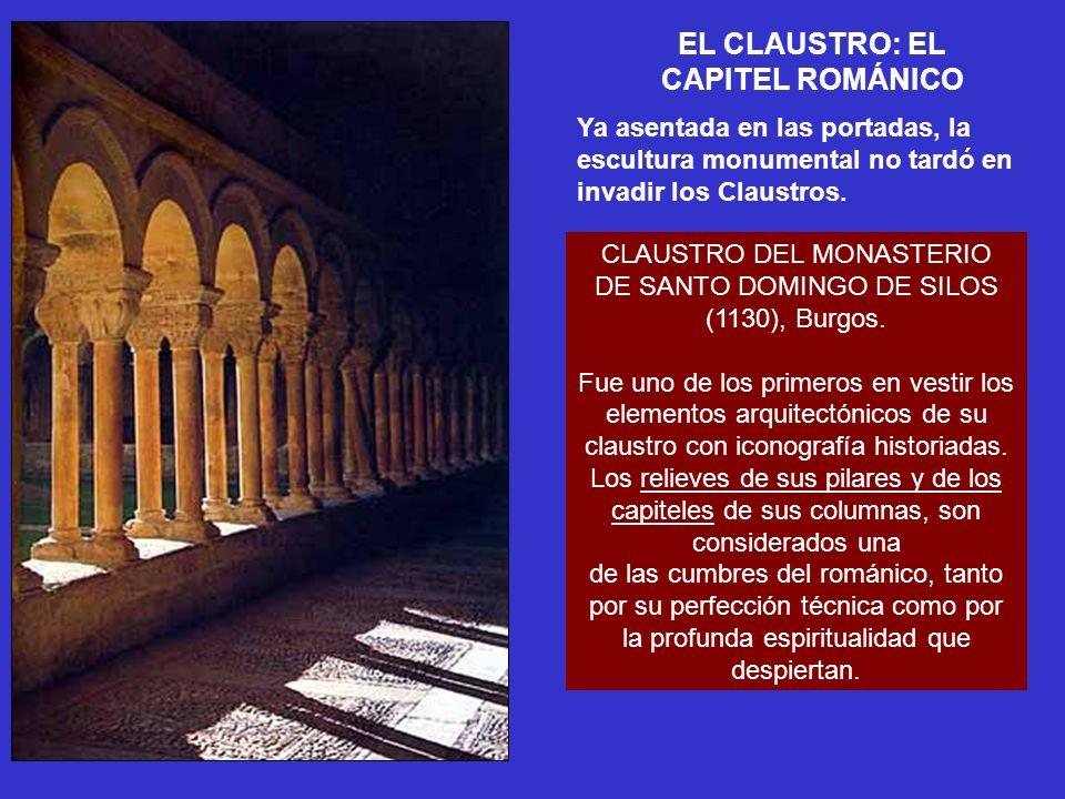 EL CLAUSTRO: EL CAPITEL ROMÁNICO