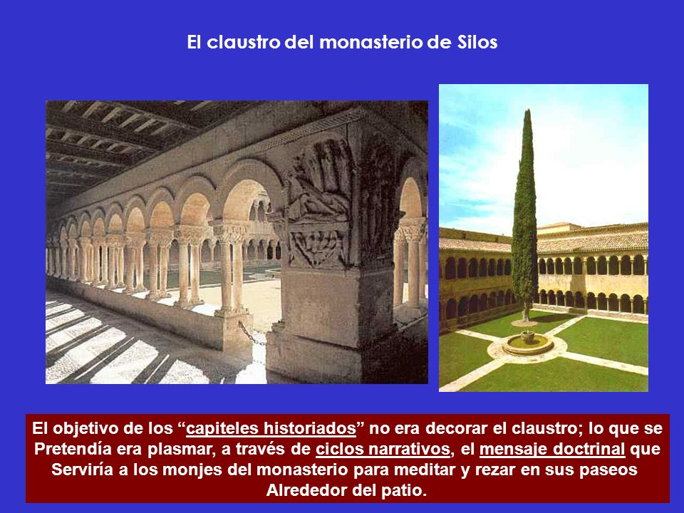 El claustro del monasterio de Silos