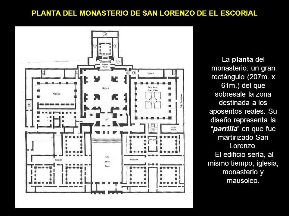 PLANTA DEL MONASTERIO DE SAN LORENZO DE EL ESCORIAL