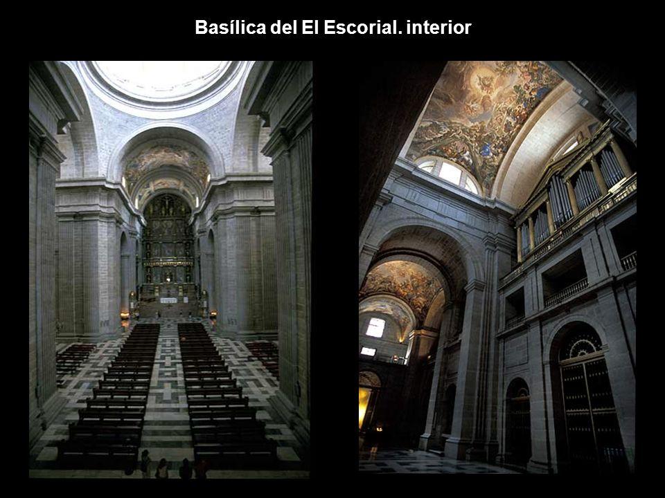 Basílica del El Escorial. interior