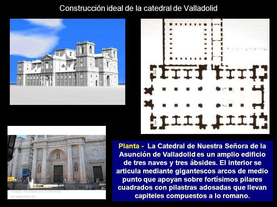 Construcción ideal de la catedral de Valladolid