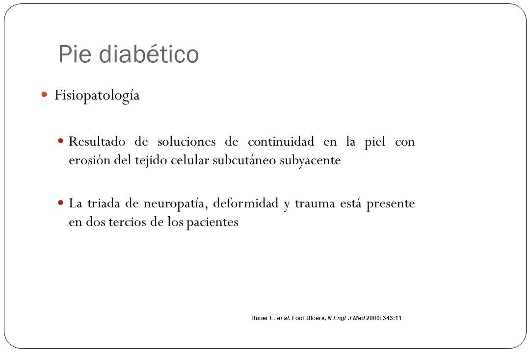 Pie diabético Fisiopatología