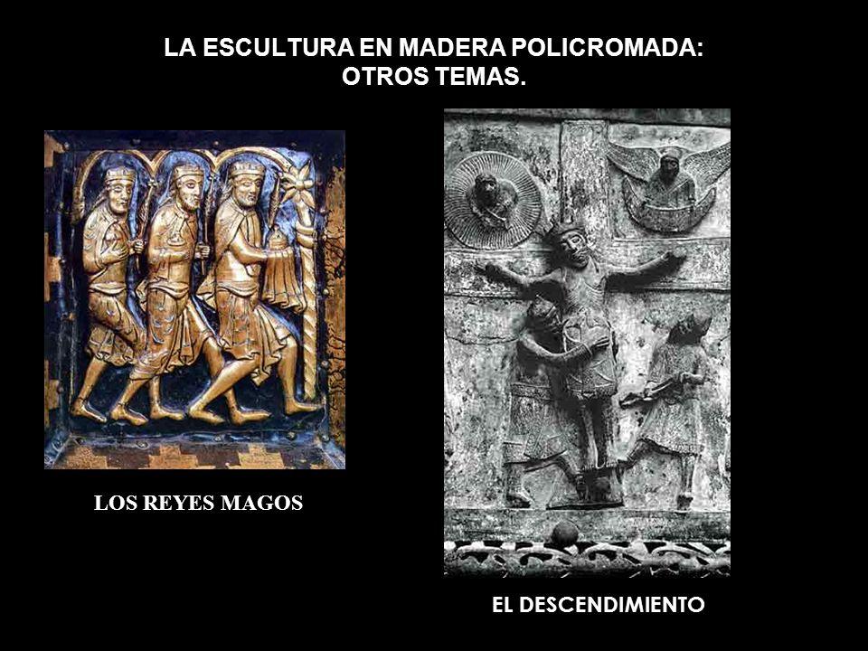 LA ESCULTURA EN MADERA POLICROMADA: OTROS TEMAS.