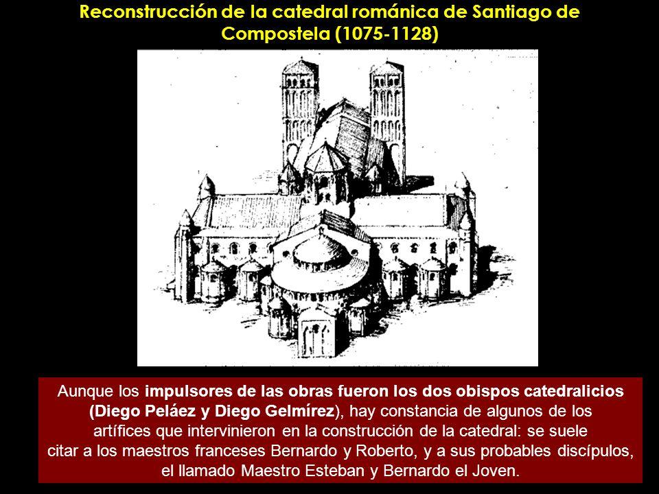 Reconstrucción de la catedral románica de Santiago de Compostela (1075-1128)