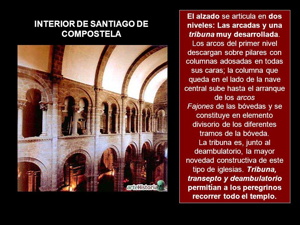 INTERIOR DE SANTIAGO DE COMPOSTELA
