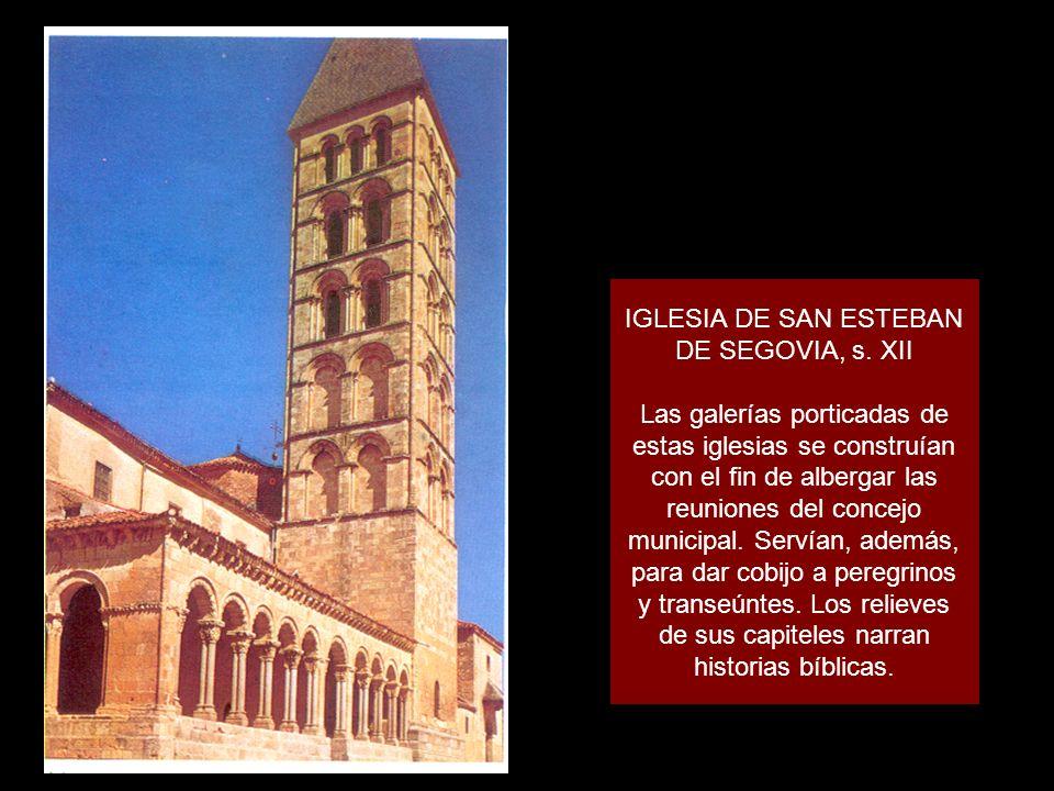 IGLESIA DE SAN ESTEBAN DE SEGOVIA, s