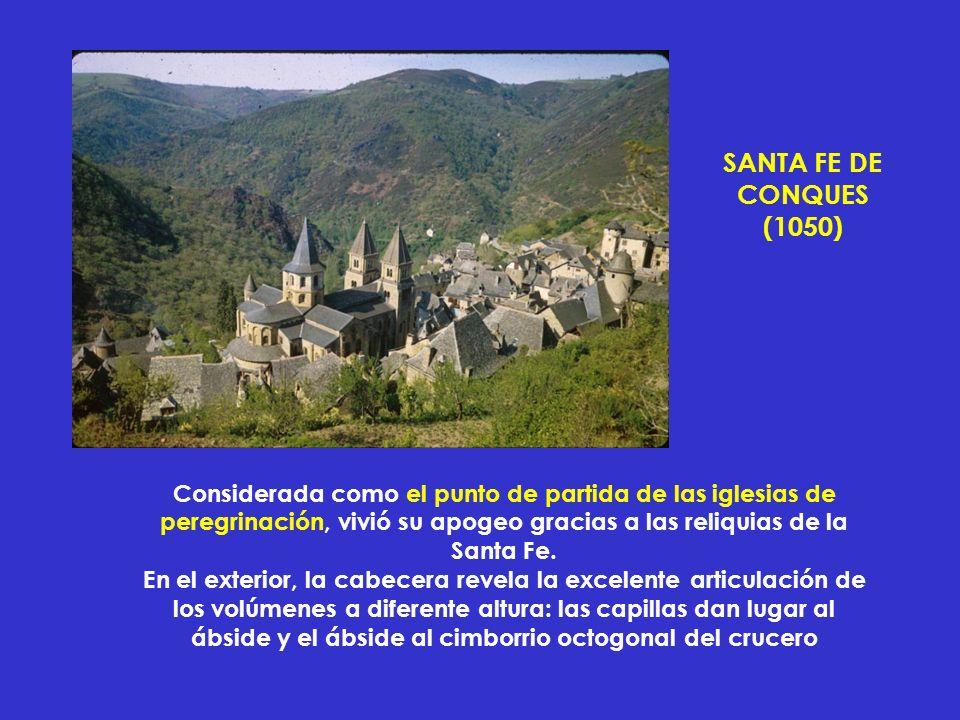 SANTA FE DE CONQUES. (1050)