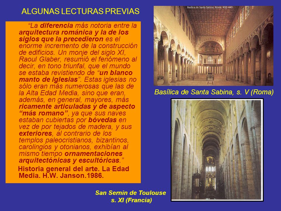 ALGUNAS LECTURAS PREVIAS