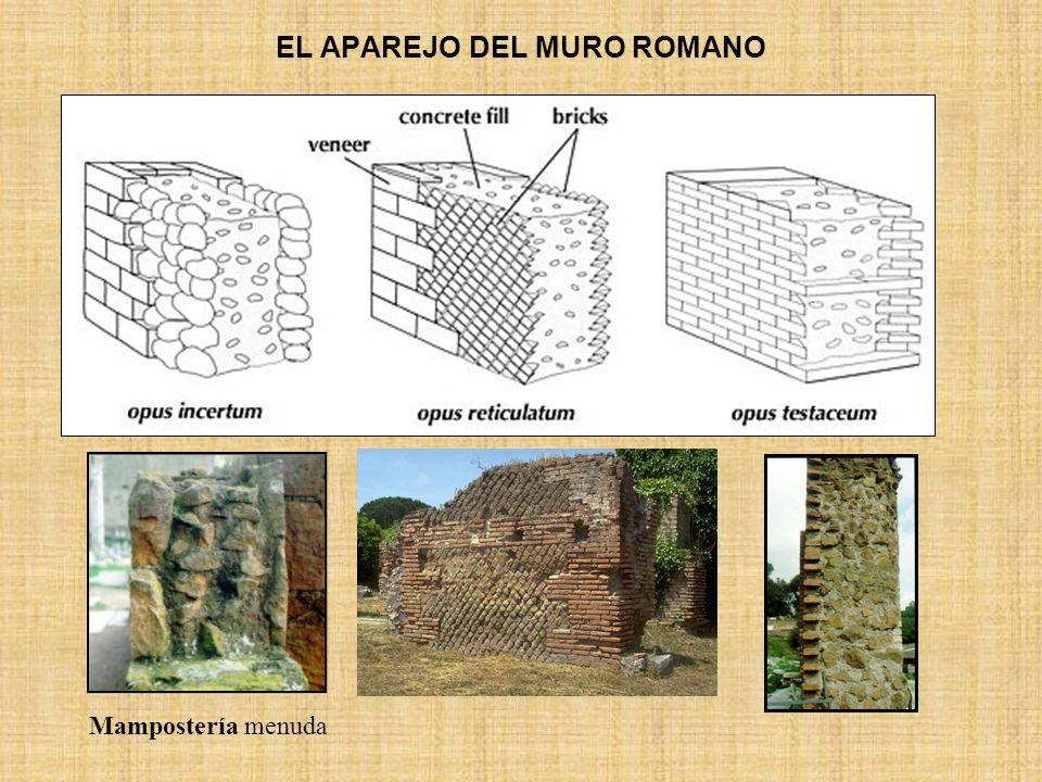 EL APAREJO DEL MURO ROMANO