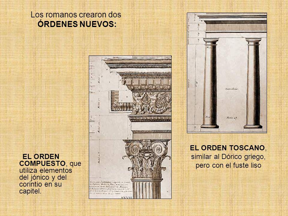 Los romanos crearon dos ÓRDENES NUEVOS: