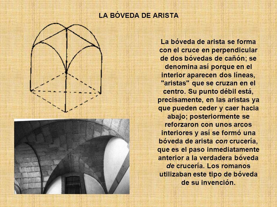 LA BÓVEDA DE ARISTA