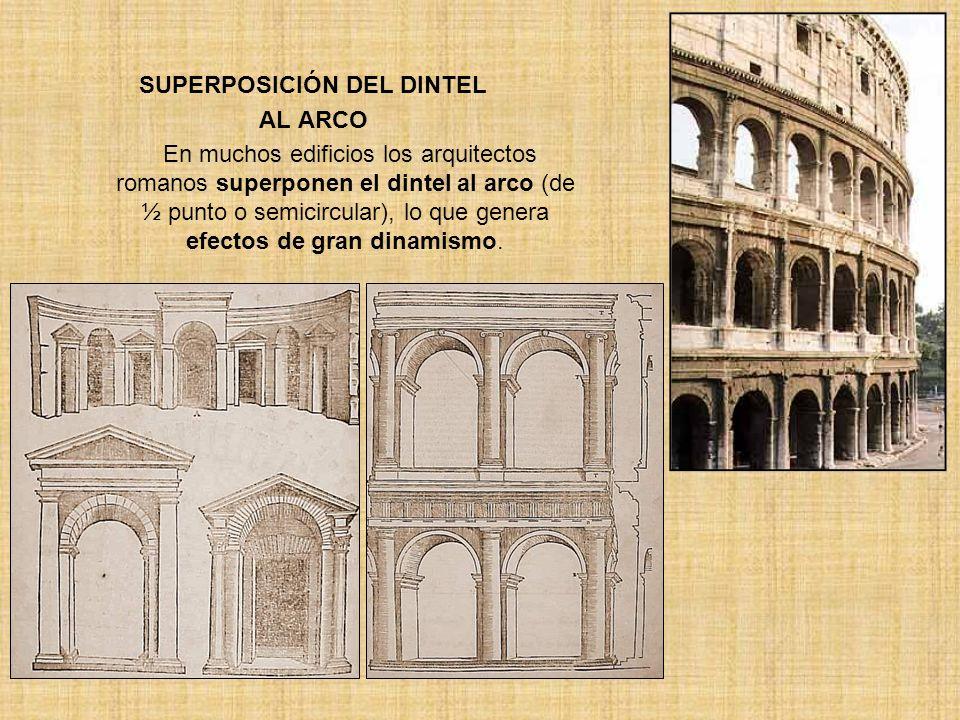 SUPERPOSICIÓN DEL DINTEL