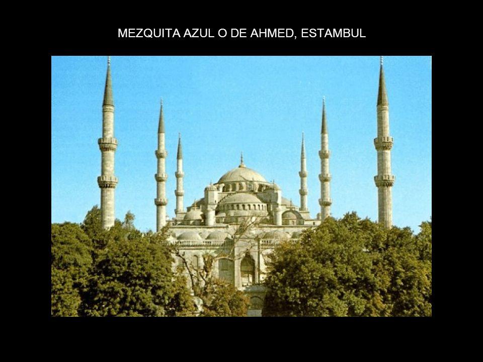 MEZQUITA AZUL O DE AHMED, ESTAMBUL
