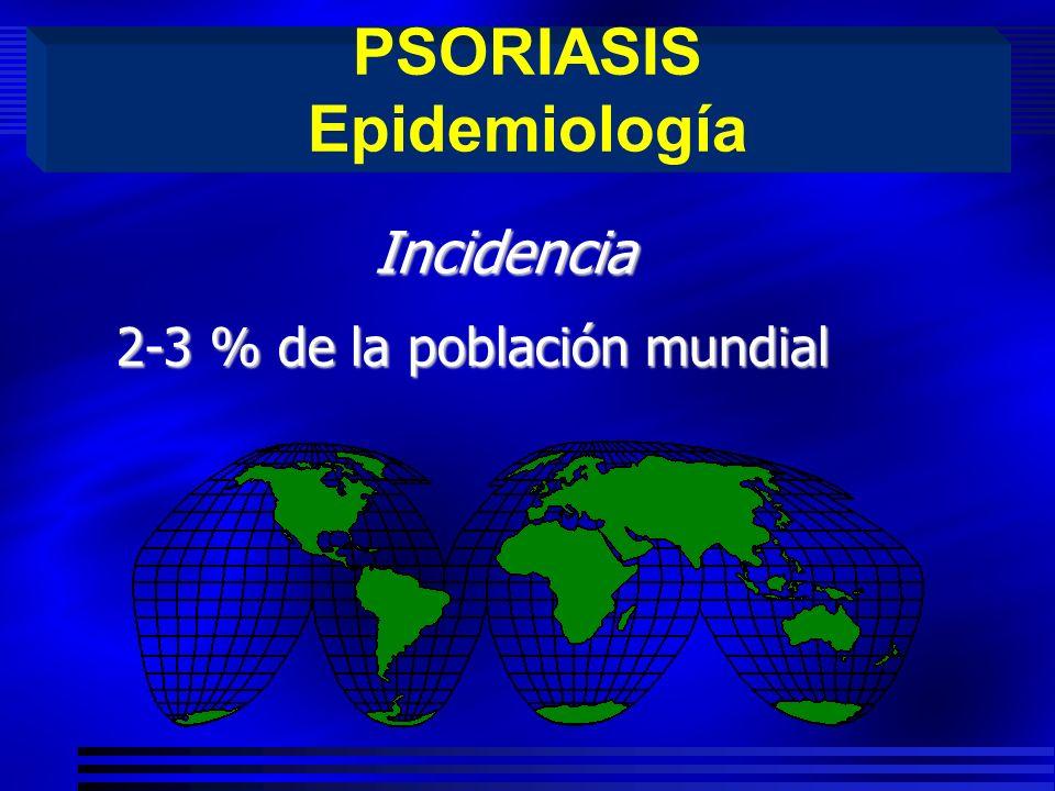 PSORIASIS Epidemiología