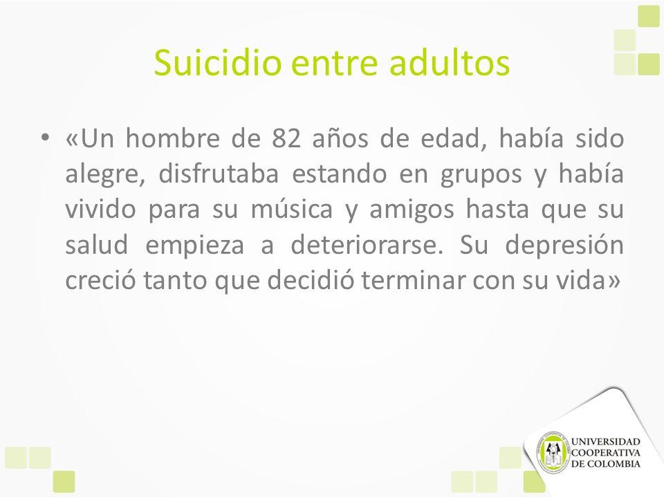 Suicidio entre adultos