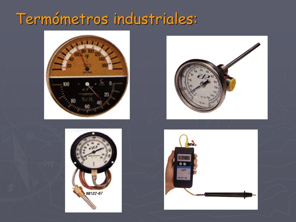 Termómetros industriales: