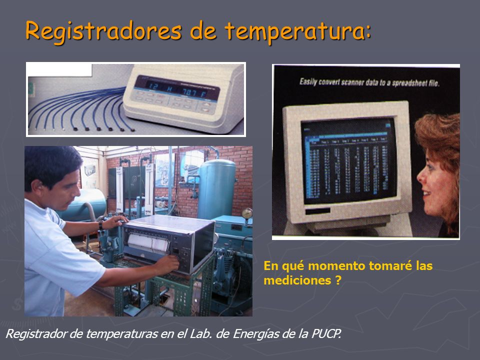 Registradores de temperatura: