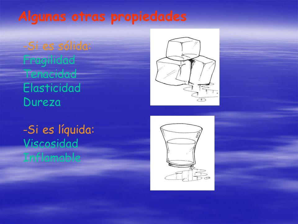 Algunas otras propiedades