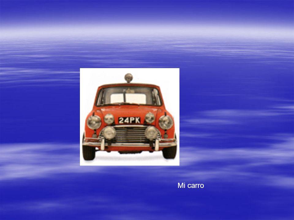 Mi carro